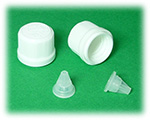18mm Tamper Evident child proof Cap with dropper type 1