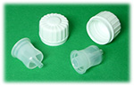 28mm Tamper Evident cap with orifice reducer
